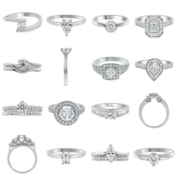 diamond ring settings