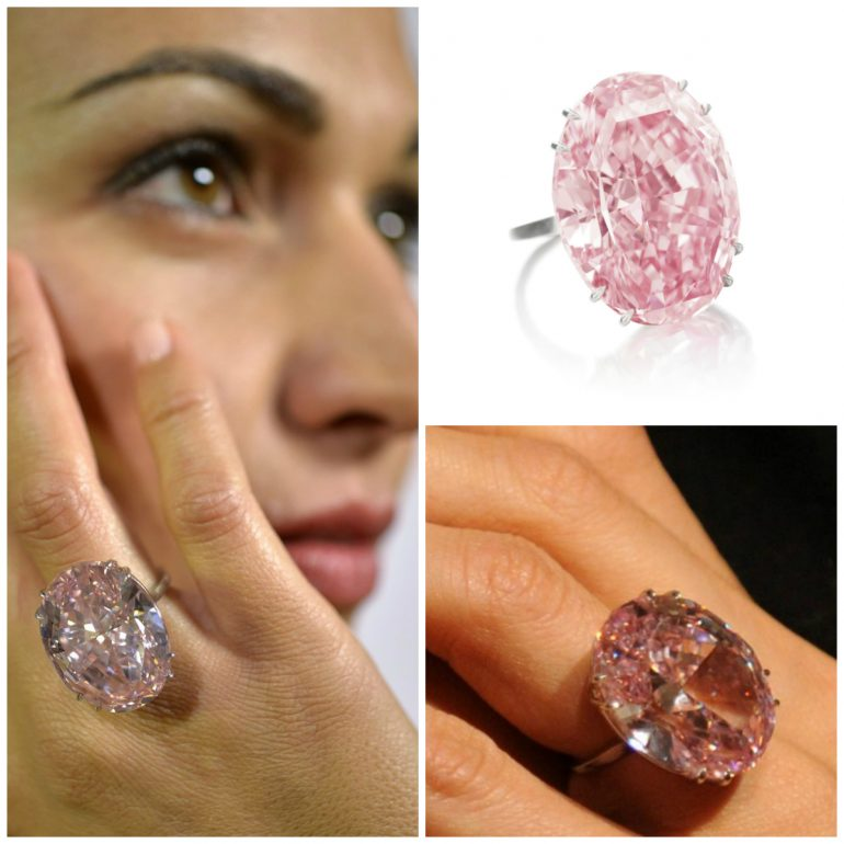Pink Star loyes Diamonds