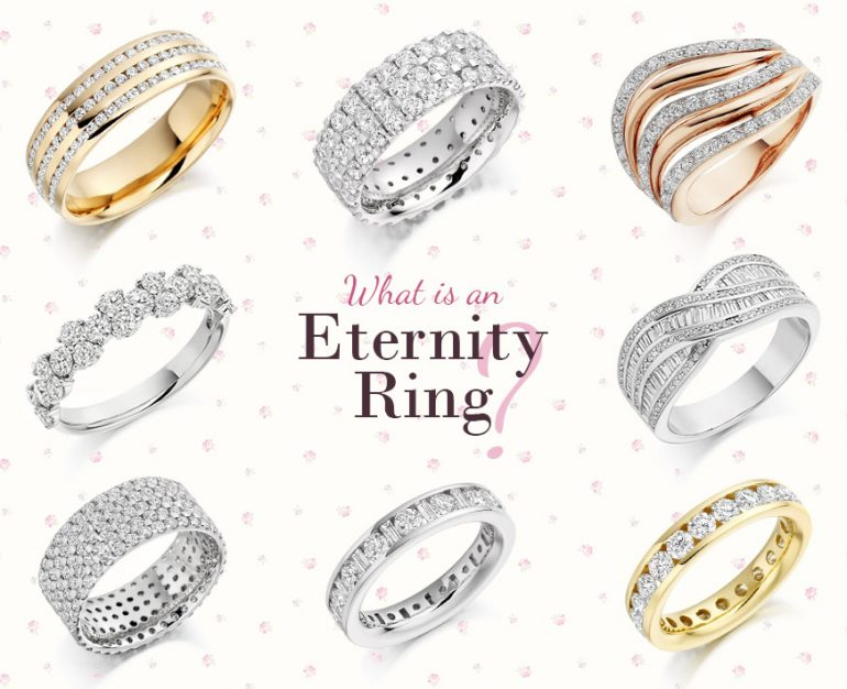 Collection of Eternity Rings from Loyes Diamonds