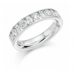eternity ring 124 loyes diamonds.