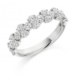 eternity ring 276 loyes diamonds.