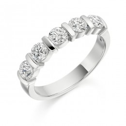 eternity ring 278 loyes diamonds.