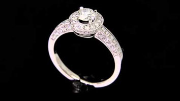 """Juliet"" – Diamond Engagement Ring"