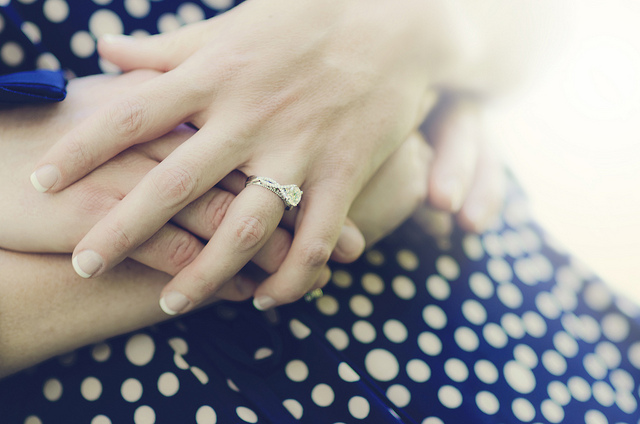how to measure ring size – surprise proposal