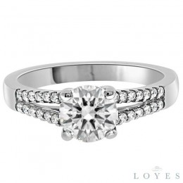 Olivia diamond engagement ring