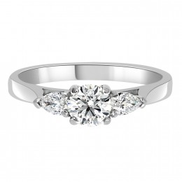 Three stone diamond ring Dublin