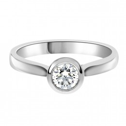 Solitaire engagement ring Laura