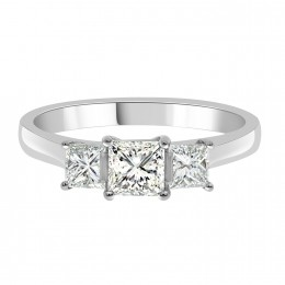 princess cut engagement ring Emily