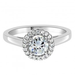 Clare vintage engagement ring