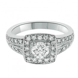 Ruth vintage diamond ring