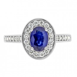 Sapphire Engagement Ring Lily