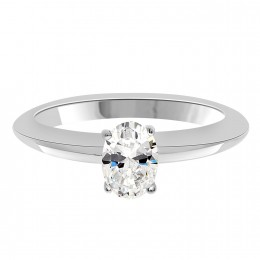 Tara Oval Cut Diamond Engagement Ring