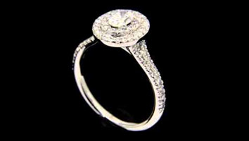 """Solase Oval"" – Engagement Ring by Loyes Diamonds Dublin"