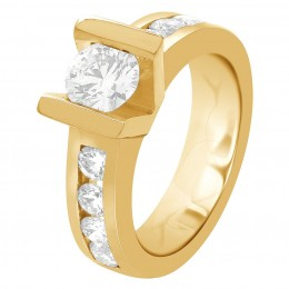 michelle angle(Yellow) engagement ring