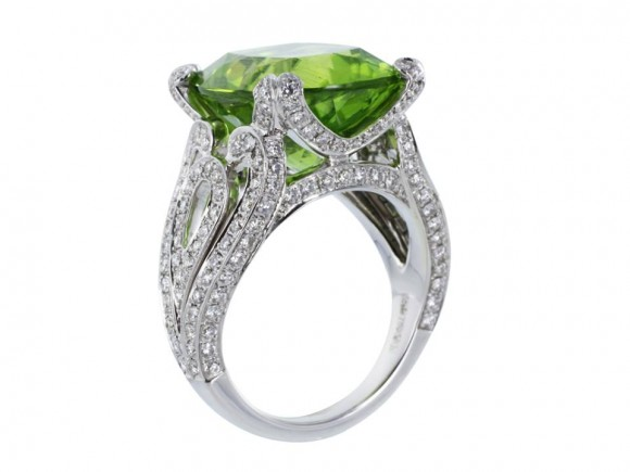 The Birthstone For August Is Peridot.