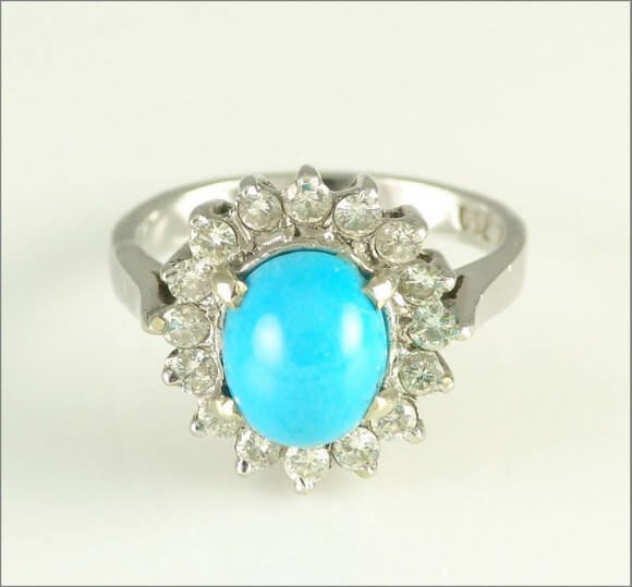 The Birthstone For December Is Turquoise.