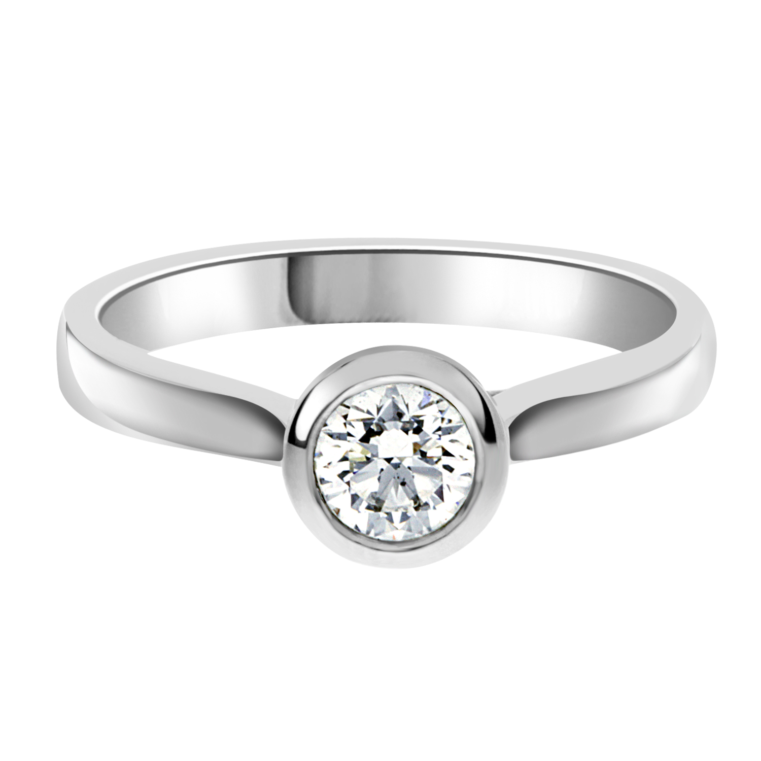 ring settings pin full engagement tacori jewellery bloom setting solitaire