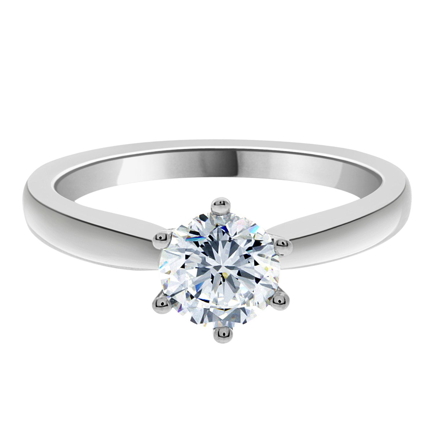 solitaire diamond zirconia free rings orders metal jewelry overstock cubic set on watches nexte product over ring shipping tension
