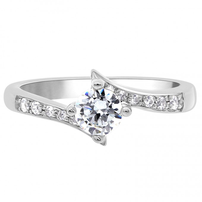 Lorraine - Quirky Engagement Ring