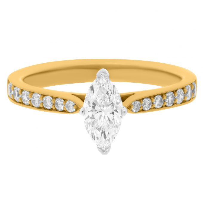 Polly Marquise  - Marquise Cut Engagement Ring