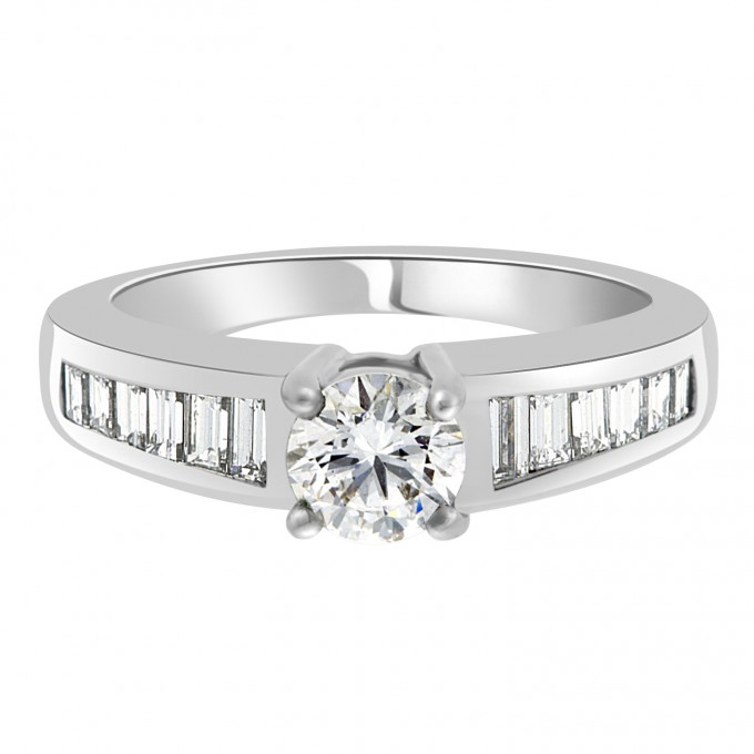 Sabrina  - Baguette Diamond Ring