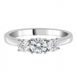 Helen - Trilogy Engagement Ring