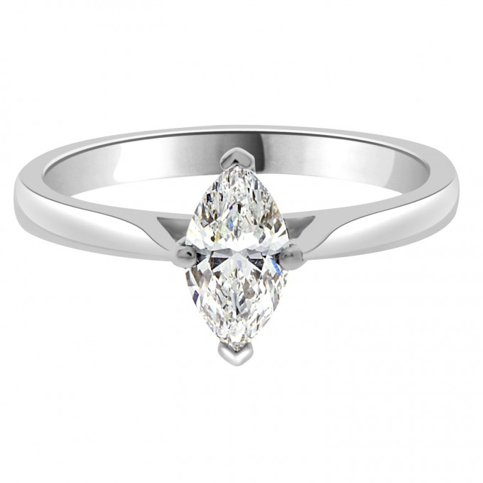 AVA - .70ct Marquise Solitaire Engagement Ring ? Ava